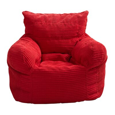Zipcode Design Solid Color Polystyrene Bean Bag Chair U0026 Reviews | Wayfair