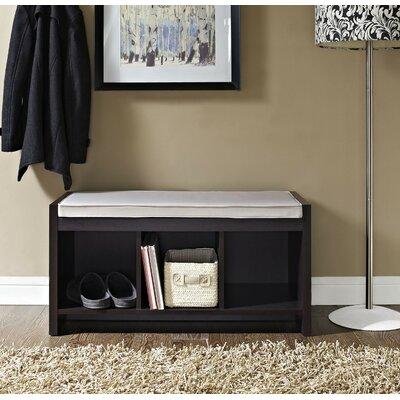 Zipcode Design Claudia Storage Bench With Cushion U0026 Reviews   Wayfair