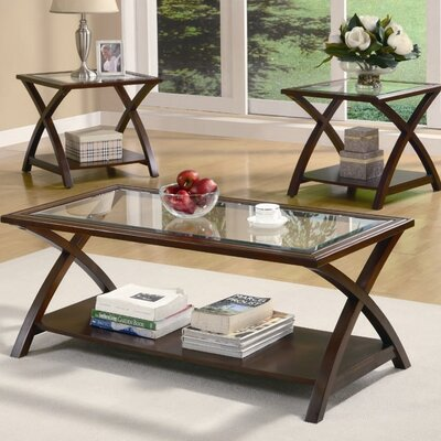 Andover Mills Beyers 3 Piece Coffee Table Set U0026 Reviews | Wayfair