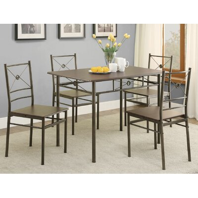 Andover Mills Mayflower 5 Piece Dining Set U0026 Reviews | Wayfair