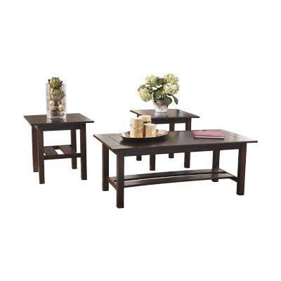 andover mills frances 3 piece coffee table set & reviews   wayfair