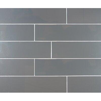 Mulia Tile Clic 4 X 16 Ceramic Subway In Dark Gray Reviews Wayfair