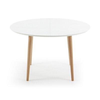 Esstisch modern ausziehbar oval  Fjørde & Co Ausziehbarer Esstisch Nola & Bewertungen | Wayfair.de