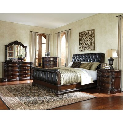 churchill upholstered sleigh bed
