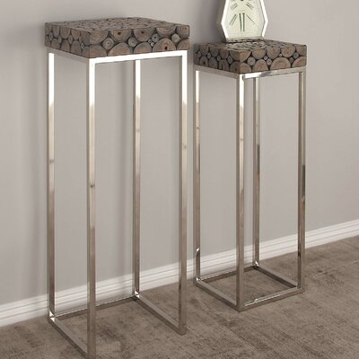 Telephone Table cole & grey 2 piece pedestal telephone table set & reviews | wayfair