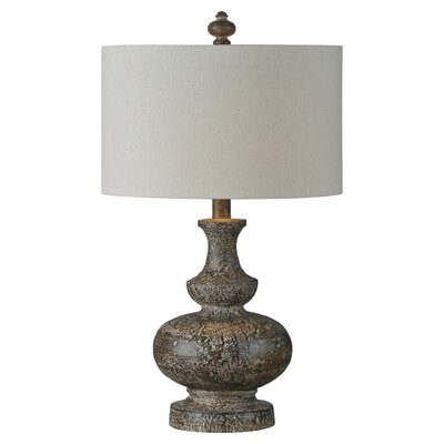 Laurel foundry modern farmhouse clementina 28 table lamp reviews wayfair