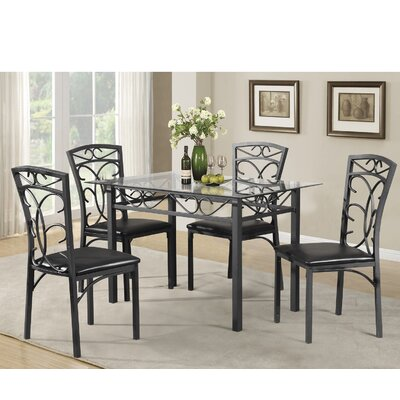 Red Barrel Studio Dearborn 5 Piece Dining Set Reviews