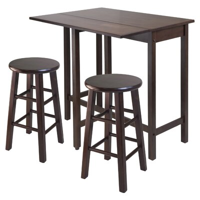 Good Red Barrel Studio Bettencourt 3 Piece Counter Height Pub Table Set U0026  Reviews | Wayfair