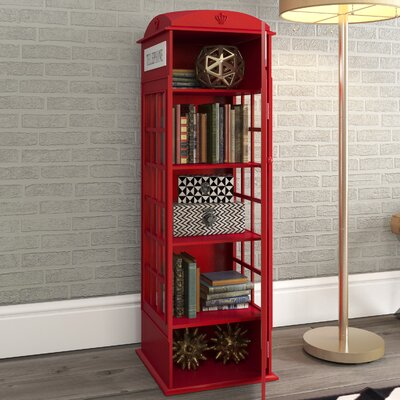 Red Phone Booth Cabinet British Red Phone Box Drinks Cabinet ...
