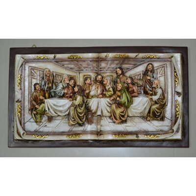 The Last Supper Wall Art hi-line gift ltd. last supper wall decor | wayfair