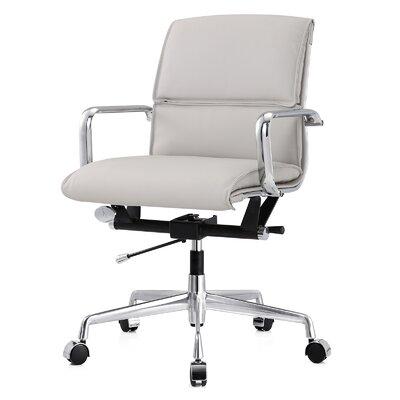 meelano leather office chair & reviews | wayfair