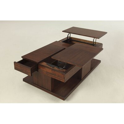 Darby Home Co Dail Coffee Table with Double LiftTop Reviews