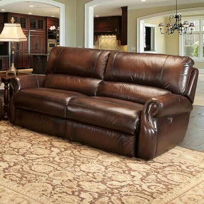 Darby Home Co Hardcastle Leather Reclining Sofa U0026 Reviews | Wayfair