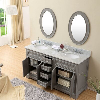 Darby Home Co Colchester Double Sink Bathroom Vanity Set