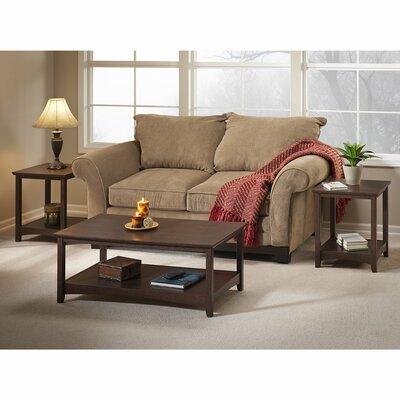 Darby Home Co Buena Vista Piece Coffee Table Set Reviews Wayfair