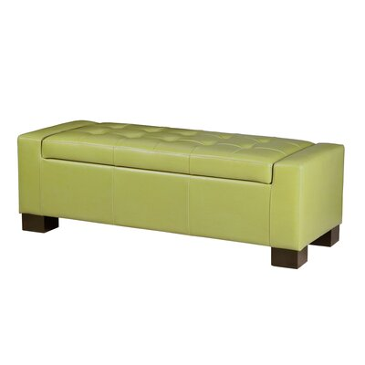 Alcott Hill Valerie Bench Tufted Top Storage Ottoman U0026 Reviews | Wayfair