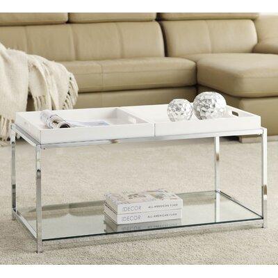 varick gallery boger coffee table & reviews   wayfair