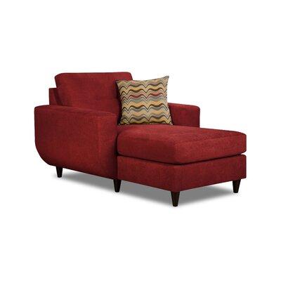 simmons chair. brayden studio gudino chaise lounge by simmons upholstery \u0026 reviews   wayfair chair