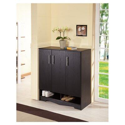 wade logan francisco modern 15pair shoe storage cabinet u0026 reviews wayfair