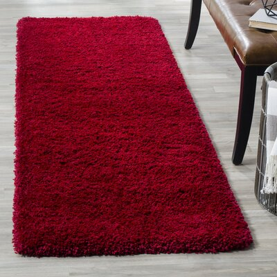 Wade Logan Rowen Red Area Rug U0026 Reviews | Wayfair