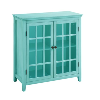 beachcrest home naples park antique double door accent cabinet u0026 reviews wayfair