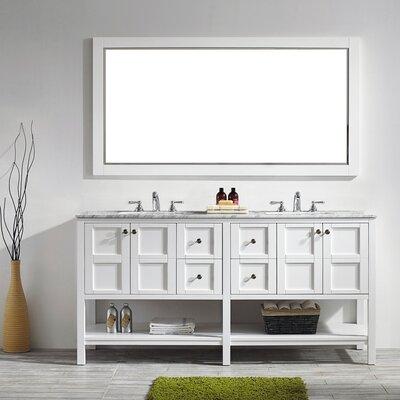 "Bathroom Vanity Sets beachcrest home caldwell 72"" double bathroom vanity set with"