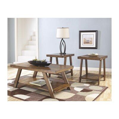 three piece living room table set.  Loon Peak Carlos 3 Piece Coffee Table Set Reviews Wayfair