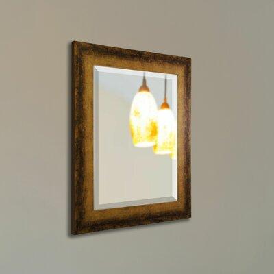 Bronze Wall Mirror trent austin design point arena tarnished bronze wall mirror | wayfair
