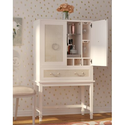 Willa Arlo Interiors Lamphere Bar Cabinet With Wine Storage
