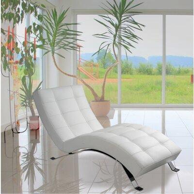 lind furniture avalon top grain leather chaise lounge u0026 reviews wayfair
