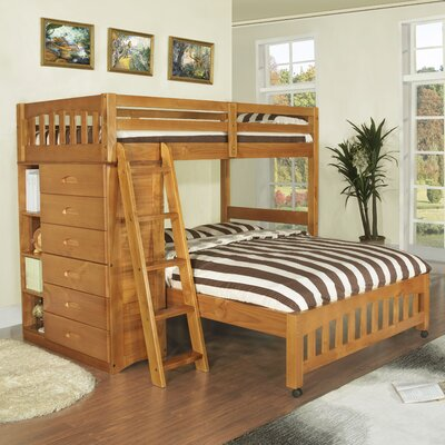 Viv Rae Kaitlyn L Shaped Twin over Full Bunk Bed & Reviews