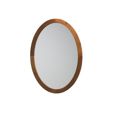 Oval Wall Mirror ronbow oval wall mirror & reviews | wayfair