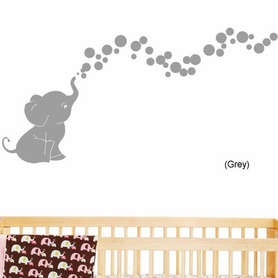 DecaltheWalls Elephant Bubbles Nursery Room Removable Wall Decal U0026 Reviews  | Wayfair.ca Part 90