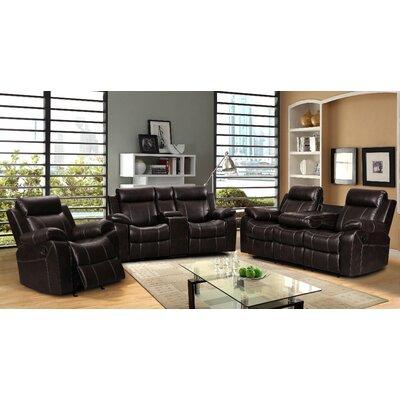Living In Style Gabrielle 3 Piece Living Room Set U0026 Reviews   Wayfair