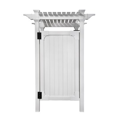 zippity outdoor products surface mount outdoor shower enclosure kit u0026 reviews wayfair