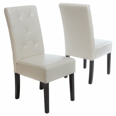latitude run corinne upholstered dining chair & reviews | wayfair