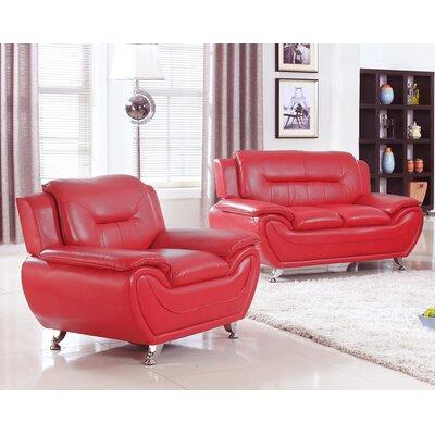 Latitude Run Sather 2 Piece Living Room Set & Reviews | Wayfair