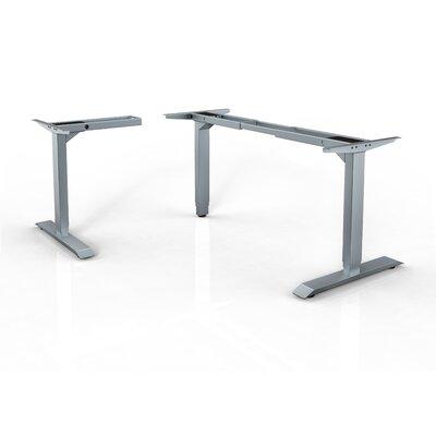 HAT Contract Unit Extended LShape Frame Standing Desk Reviews