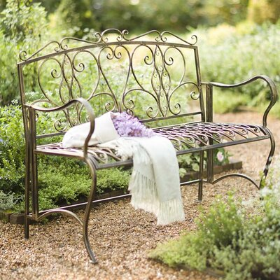 white metal garden bench for sale wind weather scroll black uk butterfly
