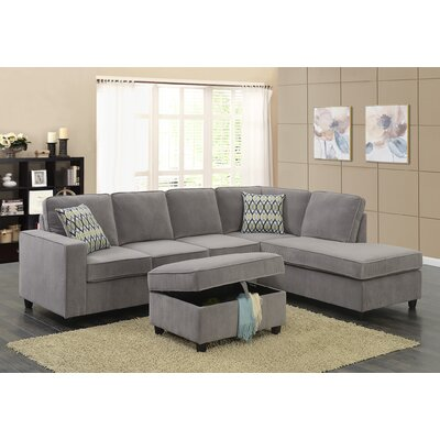 Fine Barksdale Reversible Sectional With Ottoman Andrewgaddart Wooden Chair Designs For Living Room Andrewgaddartcom