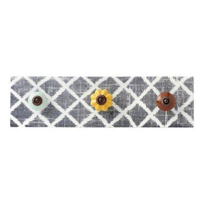 hallmark home u0026 gifts lattice decorative ceramic wall mounted coat rack u0026 reviews wayfair
