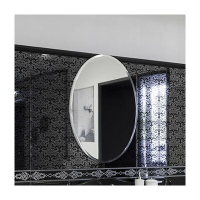 Wall Mirror With Hooks fab glass and mirror oval beveled polish frameless wall mirror