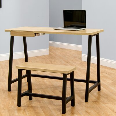calico designs writing desk and chair set reviews wayfair - Designer Writing Desk