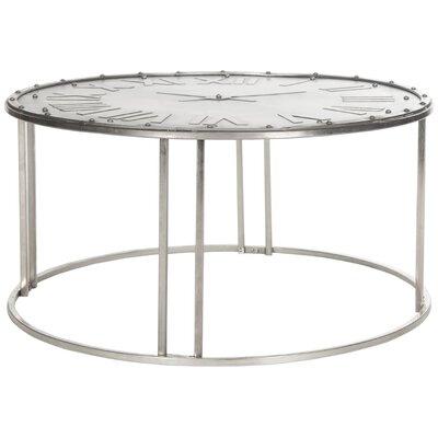 Safavieh Fox Roman Clock Coffee Table Reviews Wayfair