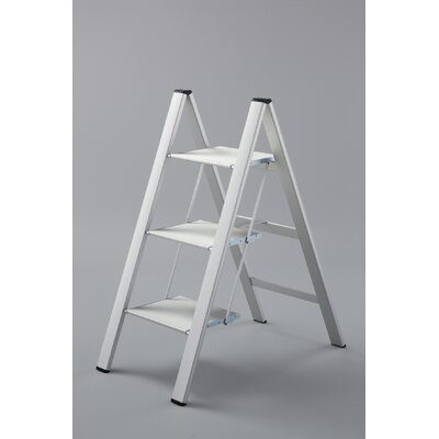 Slim Step Urbanity Step Ladder with 225 lb. Load Capacity u0026 Reviews | Wayfair  sc 1 st  Wayfair & Slim Step Urbanity Step Ladder with 225 lb. Load Capacity ... islam-shia.org