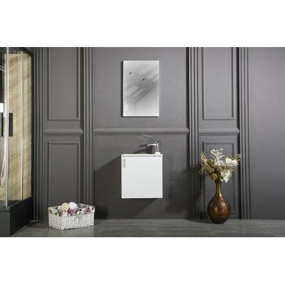 "Bathroom Sinks Regina orren ellis regina 20"" single bathroom vanity set with mirror"