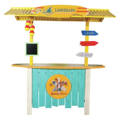Margaritaville Landshark Tiki Bar U0026 Reviews | Wayfair