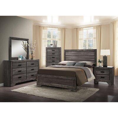 raven bedroom set.  Union Rustic Raven Panel 5 Piece Bedroom Set Reviews Wayfair
