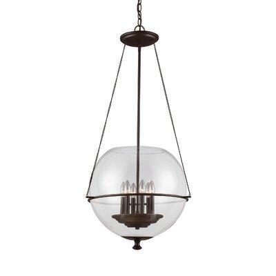 Sea Gull Lighting Havenwood 6 Light Globe Pendant Reviews Wayfair