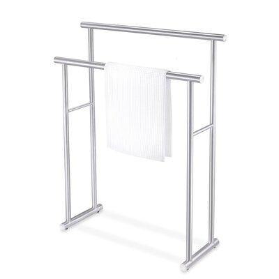 Zack Bathroom Fixtures zack free standing towel rack & reviews | wayfair